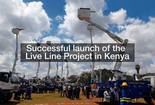 Live Line Project in Kenya