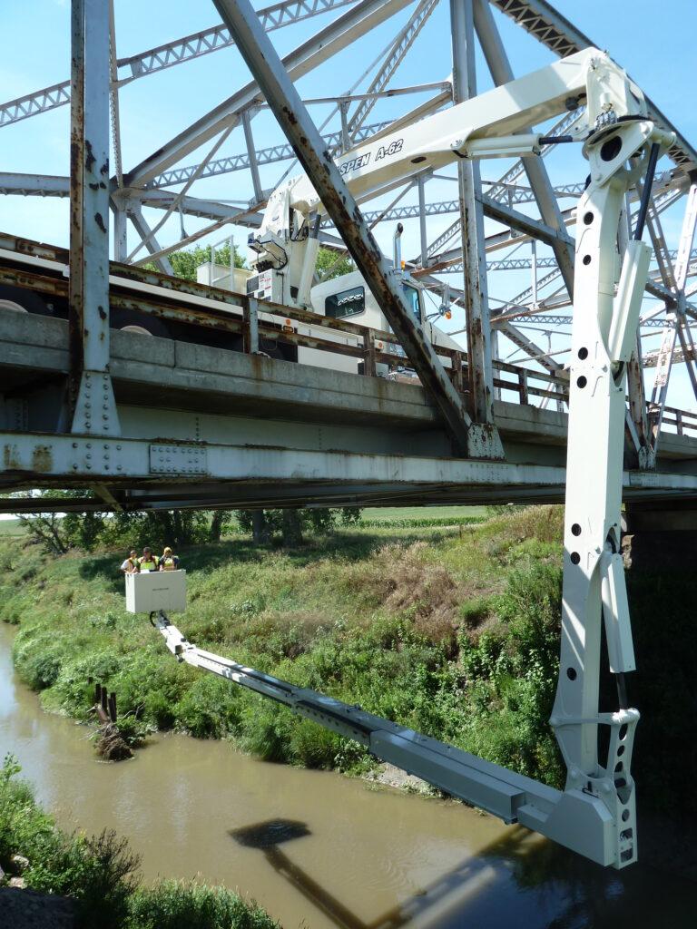 Aspen A62 bridge inspection